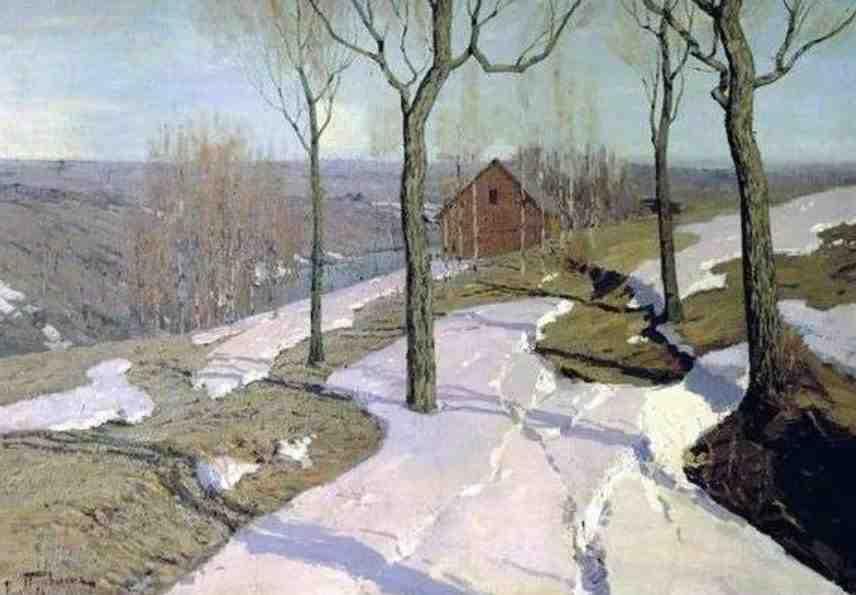 Картина Последний снег